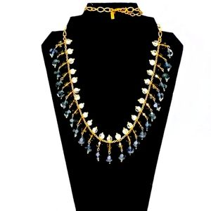 """KATE SPADE """"on the avenue"""" LONG STATEMENT NECKLACE"""